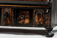 Queen Anne Period Lacquered Dressing Mirror (6 of 9)