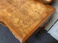 Burr Walnut Queen Anne Dressing Table (6 of 13)