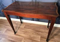 Edwardian Inlaid Mahogany Occasional Table (9 of 13)