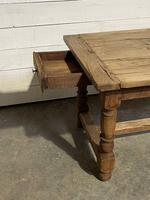 Rustic French Oak 19th Century Farmhouse Kitchen Table (29 of 31)