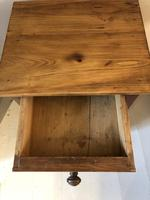 French Pine Bedside Cupboard (3 of 7)