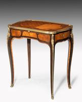 Occasional Table in Kingwood & Rosewood