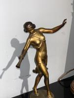 Art Deco spelter figure (5 of 8)