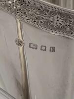 Silver Cream Jug or Milk Jug 1925 London Goldsmiths & Silversmiths Ltd (6 of 12)