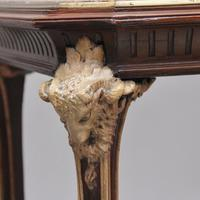 19th Century French Mahogany & Marble Top Occasional Table (10 of 12)