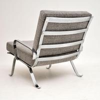 1960's Chrome Vintage Armchair (2 of 9)