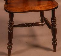 Good Victorian Broad Arm Windsor Chair (4 of 9)