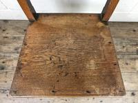 Pair of Welsh Antique Oak Farmhouse Chairs (10 of 11)