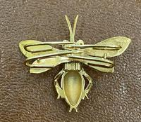 9ct Scarf Clip in the Form of a Bee (3 of 4)