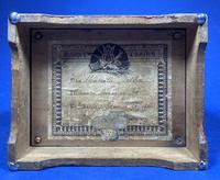 Victorian 3 Air Hurdy Gurdy Music Box (11 of 13)