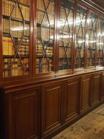 Large George III Style Mahogany 6 Door Cabinet Bookcase (5 of 17)