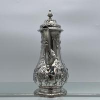 18th Century Antique George III Sterling Silver Rococo Coffee Pot London 1765 William & James Priest (6 of 10)