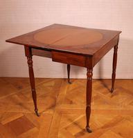 Mahogany Restoration Period Games Table 19th Century (6 of 11)