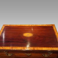 George III Inlaid Kneehole Desk (17 of 17)