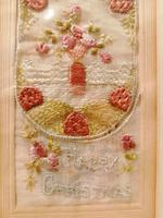 Early 20th century embroidered silk greetings cards (14 of 16)