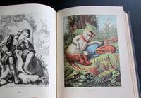 1880 Illustrated Mother Goose's Nursery Rhymes  & Fairy Tales.  1st Edition (5 of 6)