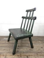 Unusual Primitive Style Painted Stick Chair (6 of 10)