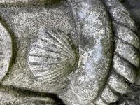Large' Victorian Style' 3 Cherubs Stone Sundial Fairy Brass Top Timepiece (24 of 29)