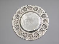 Victorian Arts & Crafts Hand Raised Silver Exhibition Dish by W G Connell, London, 1893 (7 of 10)