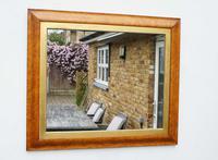 Victorian Birds Eye Maple Overmantle Mirror (2 of 13)