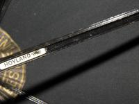 Antique Hallmarked 1919 Silver Umbrella with Black Canopy by Hoyland (4 of 13)