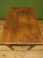 Small Rustic Antique Pine Table with Fall Front (14 of 17)
