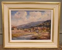 """Oil painting by Alec Caruthers Gould """"Porlock"""""""" (4 of 11)"""