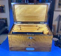 Victorian Walnut Stationary Box (11 of 15)