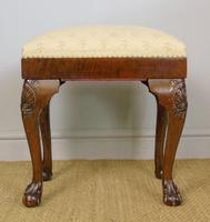 Good Quality Late Victorian Mahogany Stool (2 of 6)