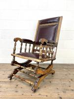 Antique Gentleman's Rocking Chair (6 of 9)