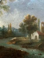 **Near Inverary** 18th Century Thomas Gainsborough Period Landscape Oil Painting (12 of 13)
