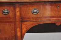 19th Century Inlaid Mahogany Serpentine Sideboard (8 of 8)