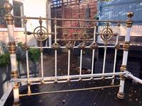 Queen / Double Victorian Brass Bed (2 of 2)