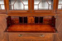 Georgian Style Mahogany Breakfront Bookcase c.1920 (8 of 12)
