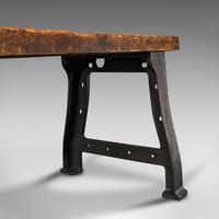 Antique Foundry Table, English, Pine, Iron, Heavy, Industrial Taste, Victorian (12 of 12)