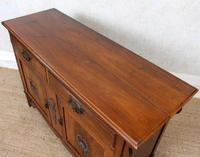 Dresser Base Arts & Crafts Walnut Sideboard 19th Century (8 of 11)