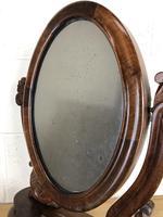 Small Victorian Mahogany Bedroom Swing Mirror (4 of 8)