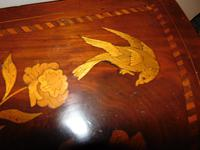 Dutch Mahogany & Marquetry Side Table (9 of 11)