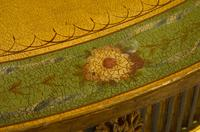 Painted George III Style Demi Lune Pier Table c1880 (2 of 8)