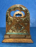 Victorian Oak Brassbound Book Slide (8 of 9)