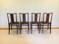 Arts & Crafts, Morris & Co - William Morris, Hampton Court Chairs c.1910-1912 (3 of 22)