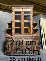 Magnificent French Carved Oak Hunting Sideboard (21 of 23)