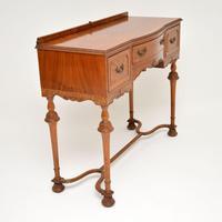 Antique Burr Walnut  Server / Side Table (2 of 11)