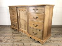 Victorian Antique Pine Sideboard with Drawers (9 of 13)