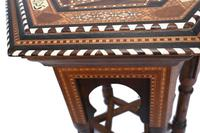 Damascan Side Table Octagonal Arabic Interiors Inlay (9 of 10)