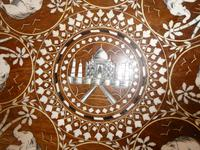 Mid 20th century Round Indian Table (4 of 5)