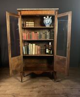 Elegant Napoleon lll Period Rosewood  & Tulipwood Bookcase / Vitrine (12 of 13)