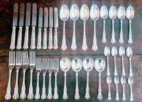 Elkington & Co Birmingham Solid Silver 36 Piece Cutlery Set 1959