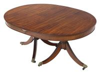 Mahogany Extending Pedestal Dining Table  19th Century (9 of 10)