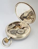 1920s silver Cyma pocket watch (5 of 5)